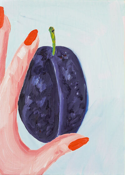 Sarah Osborne, 'The Plum Between', 2017