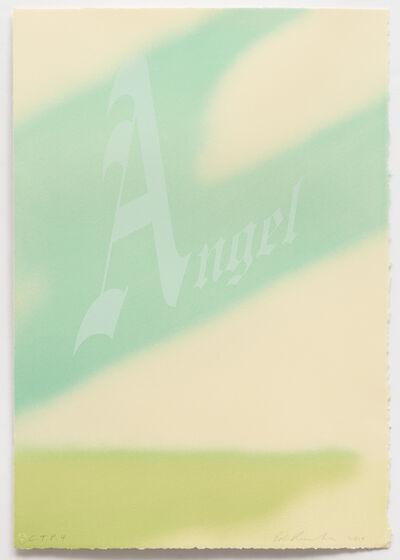 Ed Ruscha, 'Angel', 2014