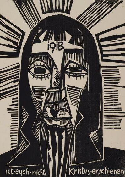 Karl Schmidt-Rottluff, 'Christus', 1918