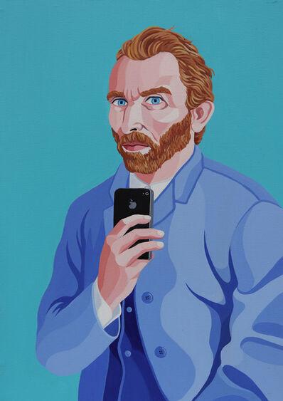 Giuseppe Veneziano, 'Selfie of Vincent Van Gogh', 2019