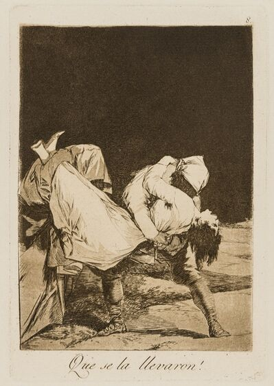 Francisco de Goya, 'Fifteen plates from 'Los Caprichos', the Tenth Edition'
