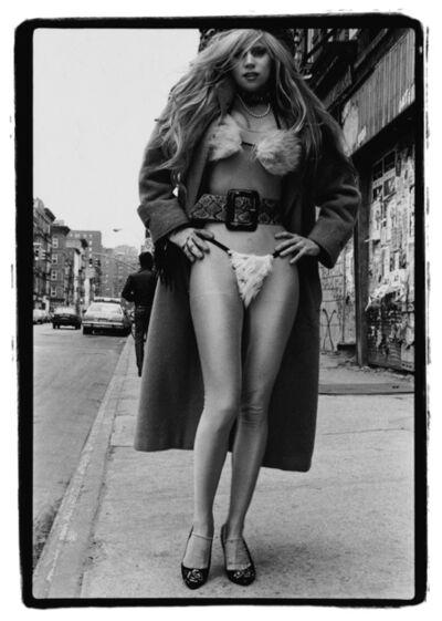 Amy Arbus, 'On the Street, Phoebe Legere/ Fur Bikini, NYC, 1987', 1987
