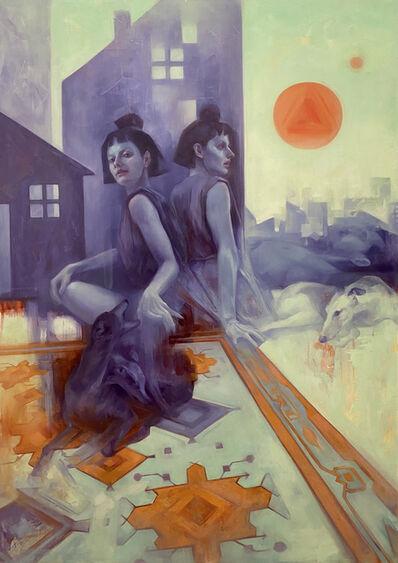 Alla Bartoshchuck, 'Paper City', 2021
