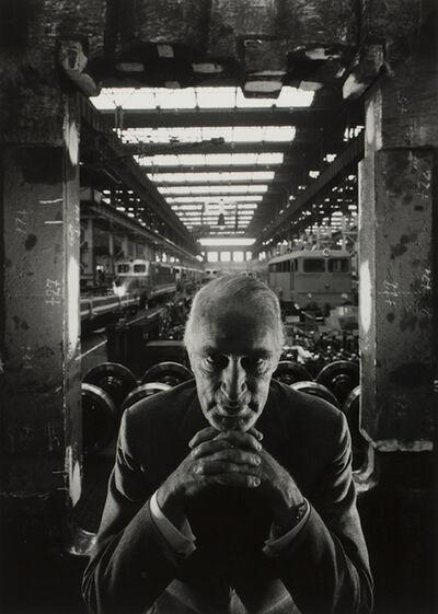 Arnold Newman, 'Alfred Krupp, Essen Germany', 1963