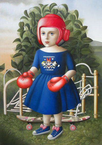 Amy Hill, 'Gym Girl'