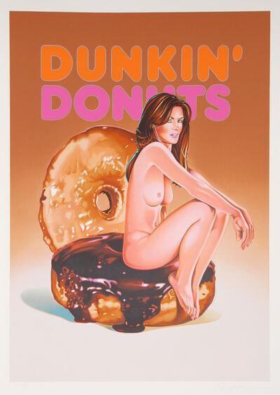 Mel Ramos, 'Dunkin' Donuts', 2006
