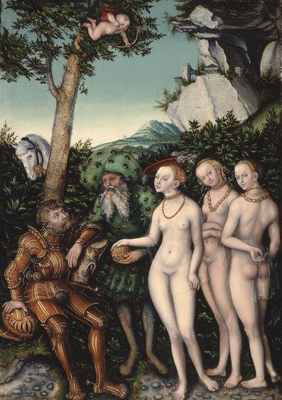 Lucas Cranach the Elder, 'Judgment of Paris', 1530
