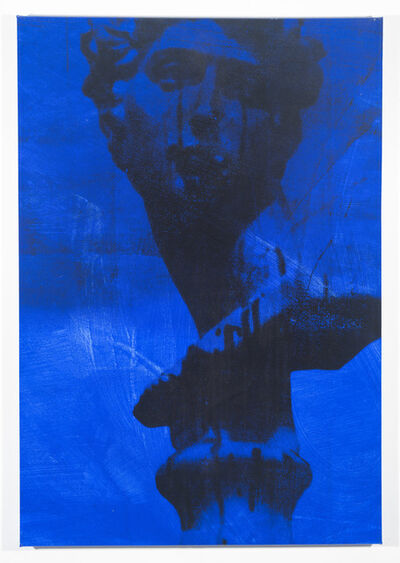 Bruce High Quality Foundation, 'Self Portrait Blue (Triple Daves)', 2012