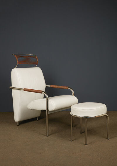 Andrea Branzi, 'Niccola, Armchair and ottoman', vers 1960