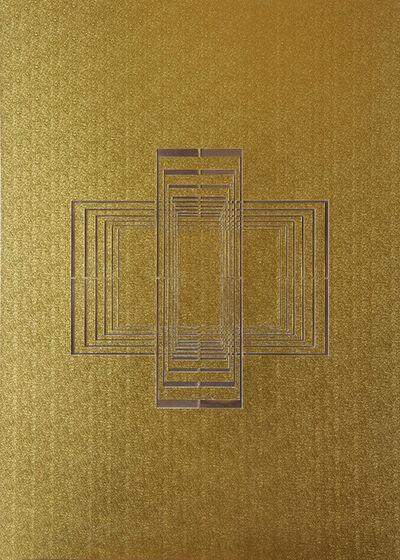 Paolo Cavinato, 'Seal gold #3', 2015