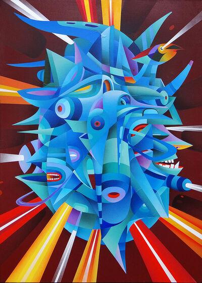 Doze Green, 'Death Mask', 2014