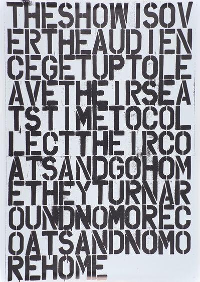 Printed Sheet, 'No Title'