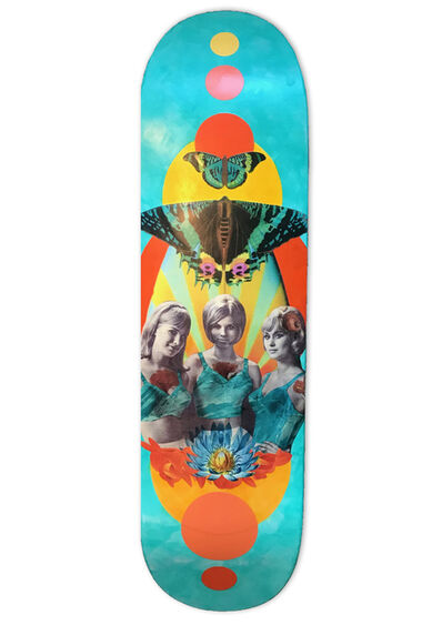 Susan Haynsworth, 'Sidewalk Surfer Girls', 2019