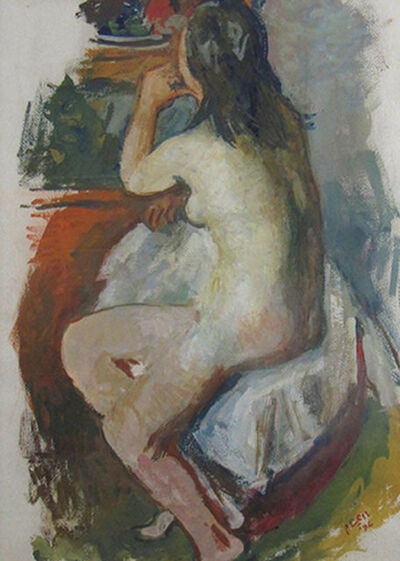Robert Philipp, 'Nude Gazing', ca. 1950