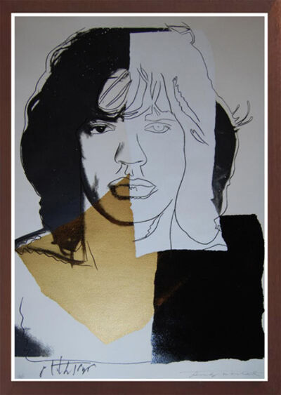 Andy Warhol, 'MICK JAGGER (F. & S. II.146)', 1975