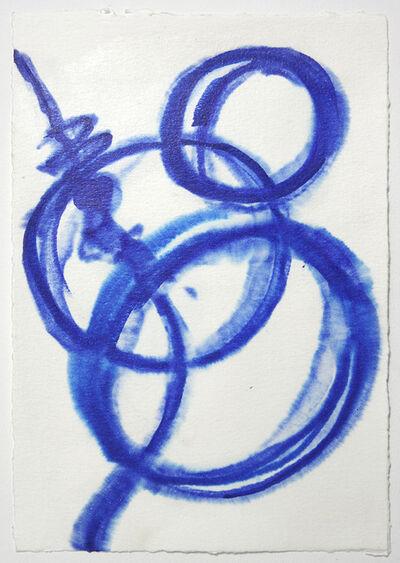 Satoshi Hirose, 'Untitled (Blue Drawing)', 2010