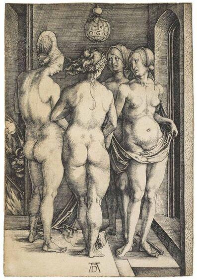 Albrecht Dürer, 'Four naked Women (B. 75; M., Holl. 69; S.M.S. 17)', 1497