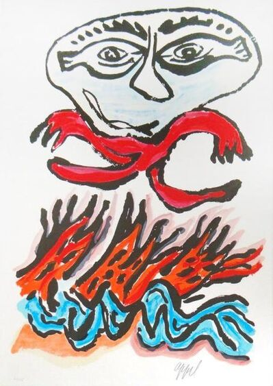 Karel Appel, 'Tantrika II', 1988