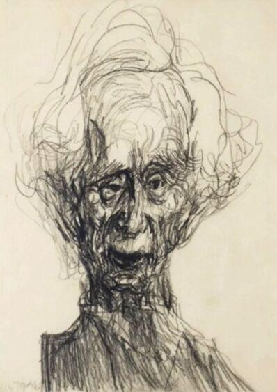 Feliks Topolski, 'Portrait of Bertrand Russell', 1957