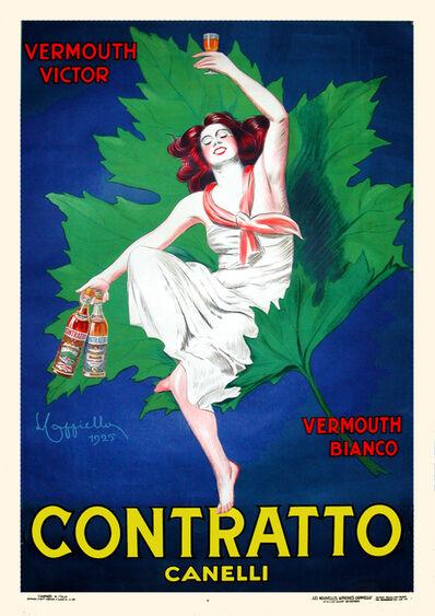Leonetto Cappiello, 'Contratto Canelli - Vermouth - Liqueur', 1925
