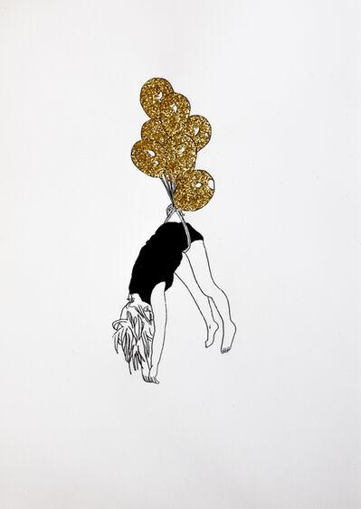 Xavi Muñoz, 'Breathing your Dreamland Gold VII', 2017