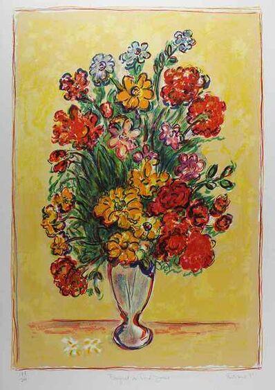 Wayne Ensrud, 'Bouquet au Fond Jaune (Yellow Background)', 1980