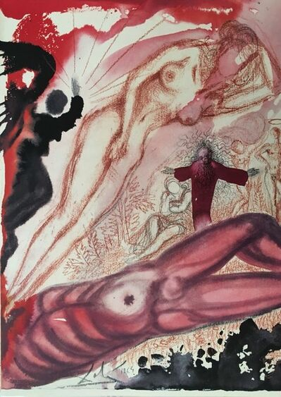 "Salvador Dalí, 'Mulier e Latere Viri - From ""Biblia Sacra""', 1964"