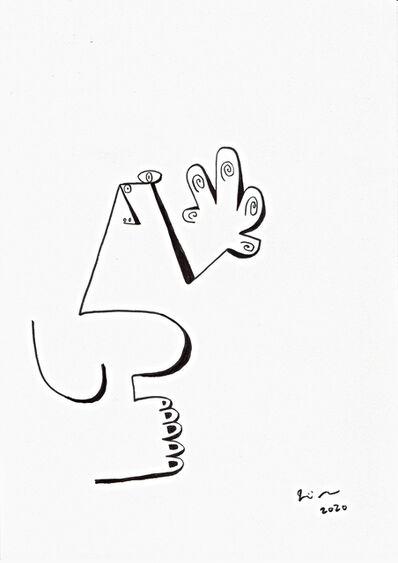 Joji Nakamura, 'drawing L#20', 2020