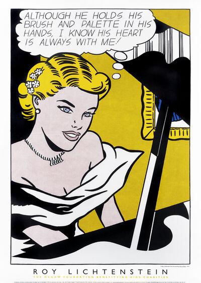 Roy Lichtenstein, 'Girl At Piano - 1963', 1997