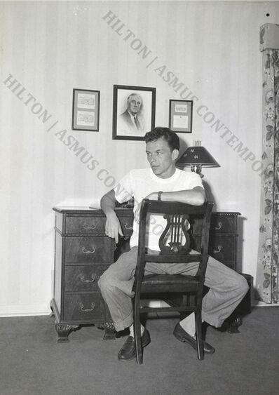 Unknown, 'Frank Sinatra - Sitting at Desk', ca. 1945