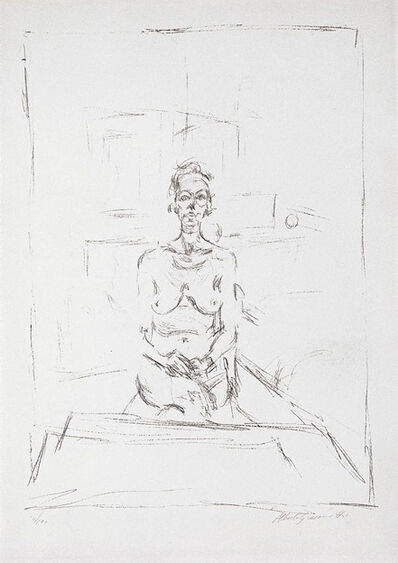 Alberto Giacometti, 'Seated Nude', 1965