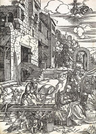 Albrecht Dürer, 'The Sojourn of the Holy Family in Egypt', circa 1504