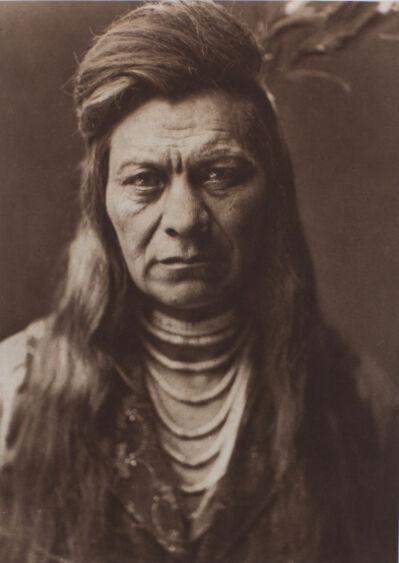 Edward Sheriff Curtis, 'Black Eagle, Nez Percé', 1911