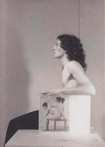 Giovanni Morbin, 'Tra vesti mento', 1981