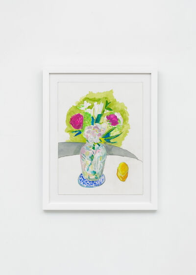 Charlie Scheips, 'Deco Vase With Flowers I', 2019