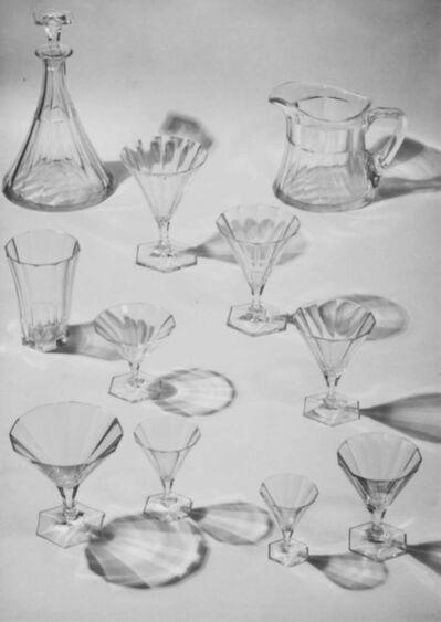 Josef Sudek, 'Advertising photograph for Družstevní práce (glass by Ludvika Smrckova)', 1930s