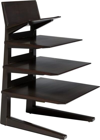 Edward Wormley, 'Four Tier Magazine Rack'