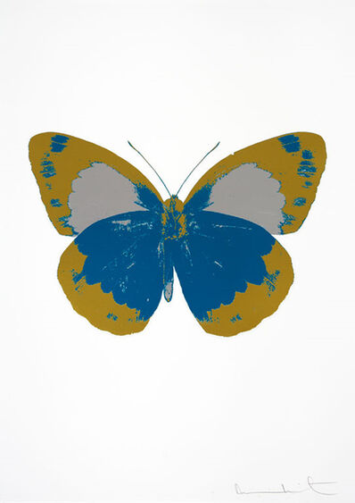 Damien Hirst, 'The Souls II (Turquoise - Oriental Gold - Silver Gloss)', 2010