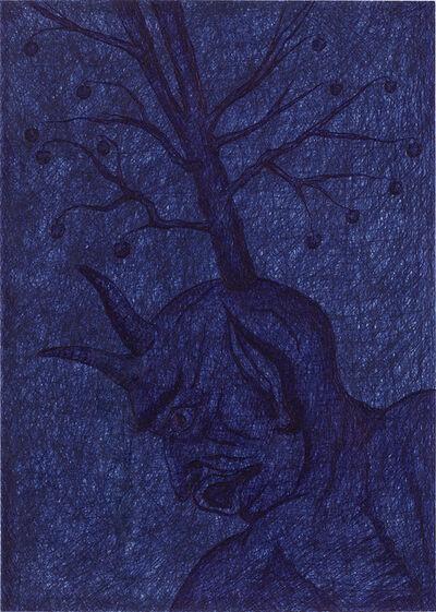 Jan Fabre, 'Het Denken van het Verbodene (La Pensee de l`interdit// Thinking the Forbidden)', 1986