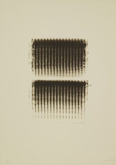 Heinz Mack, 'Doppelstruktur', 1972