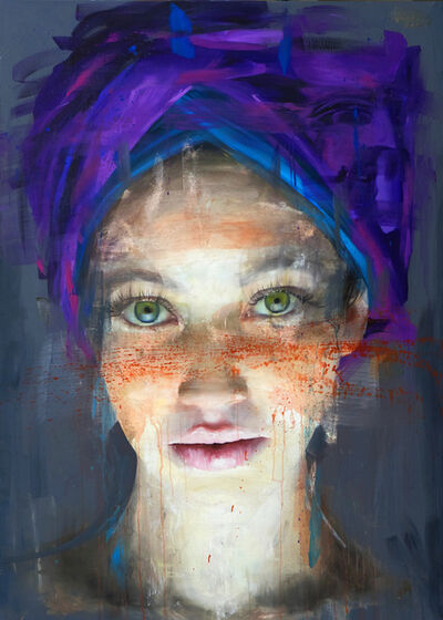 Roberta Coni, 'Matilde with Purple Turban', 2019
