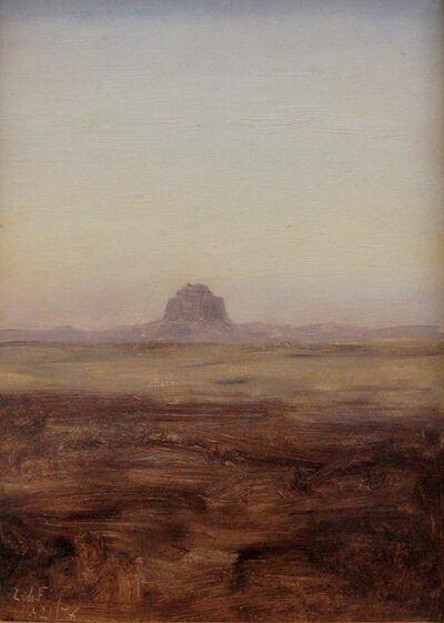 Lockwood de Forest, 'Looking Towards the Maidum Pyramid, Egypt (Dusk)', 1878