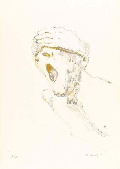 Maria Lassnig, 'untitled (Schreiende)', 1981