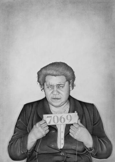 Lava Thomas, 'Mugshot Portraits: Women of the Montgomery Bus Boycott, Jimmie L. Lowe', 2018