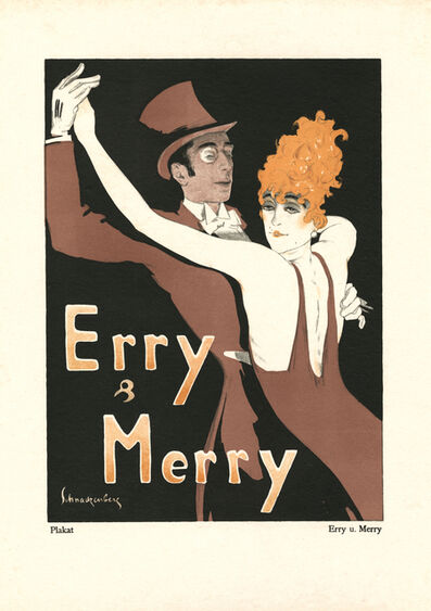 """Walter Schnackenberg, '""""Erry & Merry"""", Kostume, Plakate und Decorationen', 1920"""