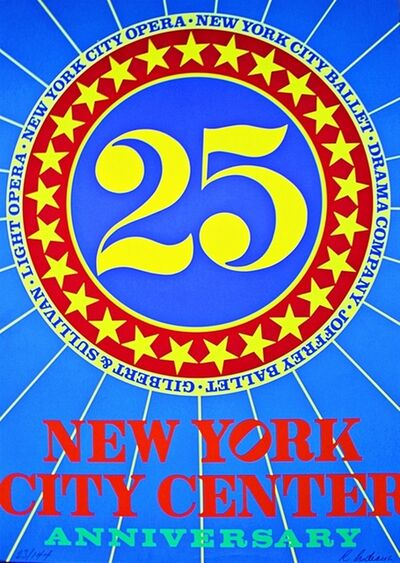Robert Indiana, 'New York City Center of Music and Drama ', 1968