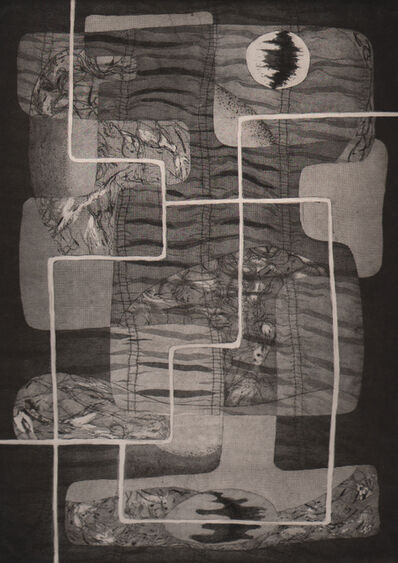 Alice Trumbull Mason, 'White Scaffolding', 1946