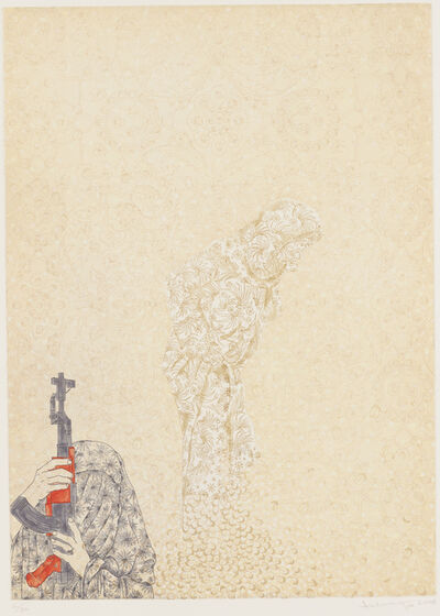 Ambreen Butt, 'Daughter of the East, Plate 4', 2008