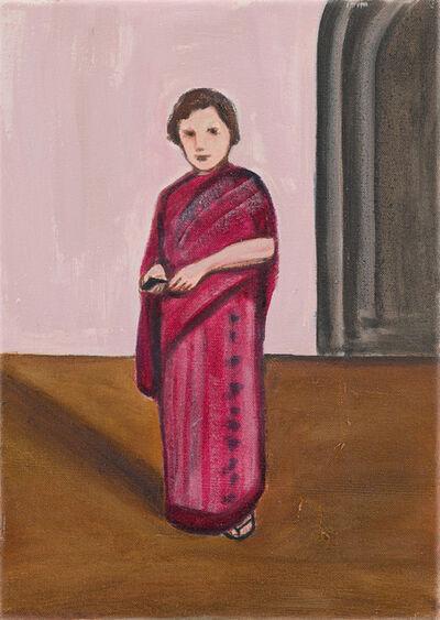 Matthew Krishanu, 'Magenta Sari', 2016