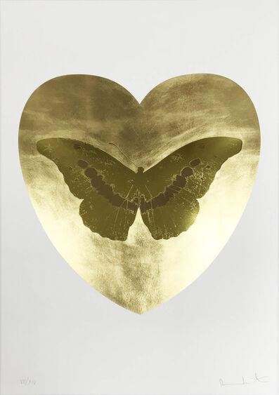 Damien Hirst, 'I Love You - Gold Leaf/Oriental Gold/Cool Gold', 2015